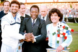 Altobelli - Pelè - Maradona